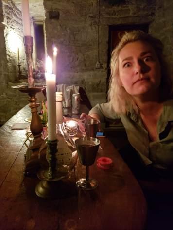haunted in Ballintotis castle
