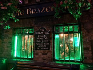 The Brazen Head oldest pub in Ireland