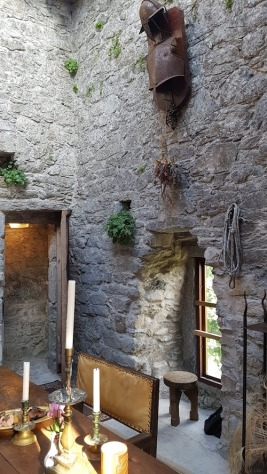 The castle kitchen
