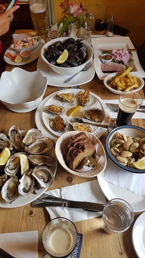 Irish seafood feast