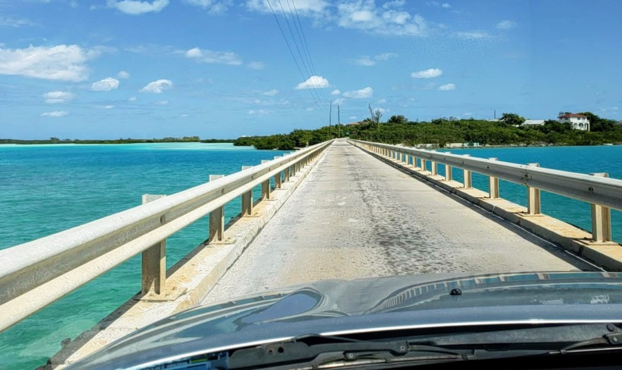 bridge to Little Exuma