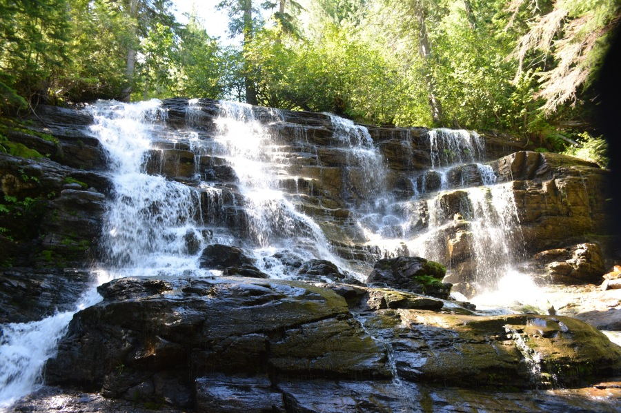 Moses Falls near Revelstoke